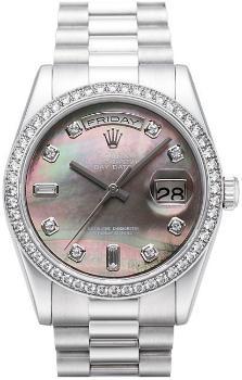 Rolex Day-Date Zifferblatt perlmutt