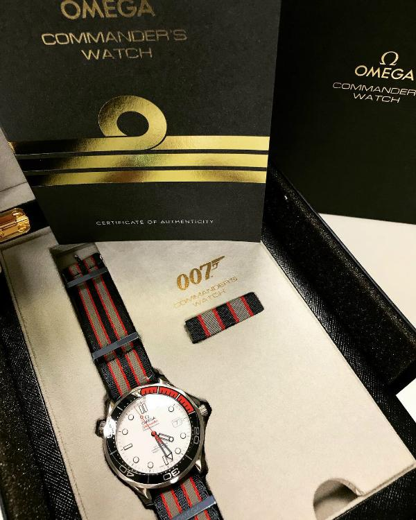Omega Commanders Watch Limited Edition jamesbond bond 007