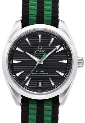 Omega Seamaster Aqua Terra 150M Co-Axial Master Chronometer 41mm Golf Edition schwarz gruen