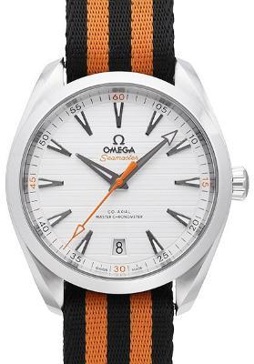Omega Seamaster Aqua Terra 150M Co-Axial Master Chronometer 41mm Golf Edition schwarz orange