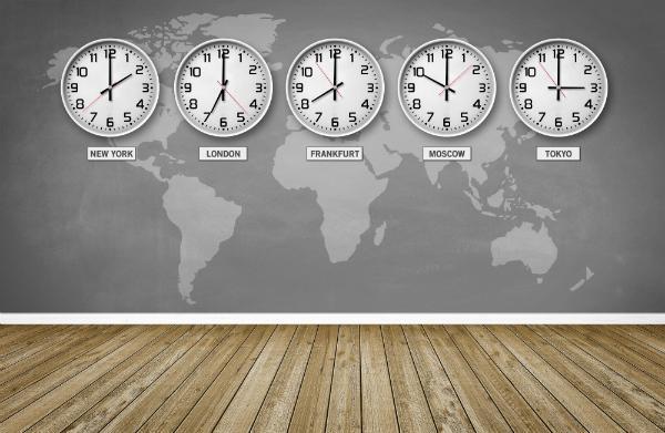 Weltzeiten und Zeitzonen