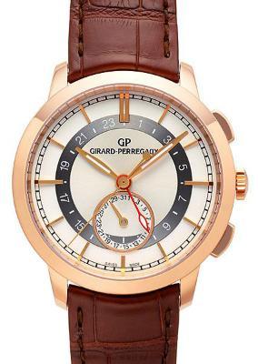 Girard Perregaux 1966 Dual Time in der Version 49544-52-131-BBB0