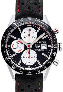 Tag Heuer Carrera Calibre 16 Automatik Chronograph 41mm in der Version CV201AP-FC6429