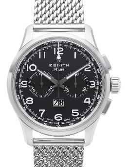 Zenith Pilot Big Date Special in der Version 03-2410-4010-21-M2410