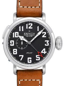 Zenith Pilot Montre DAeronef Type 20 GMT in der Version 03-2430-693-21-C723