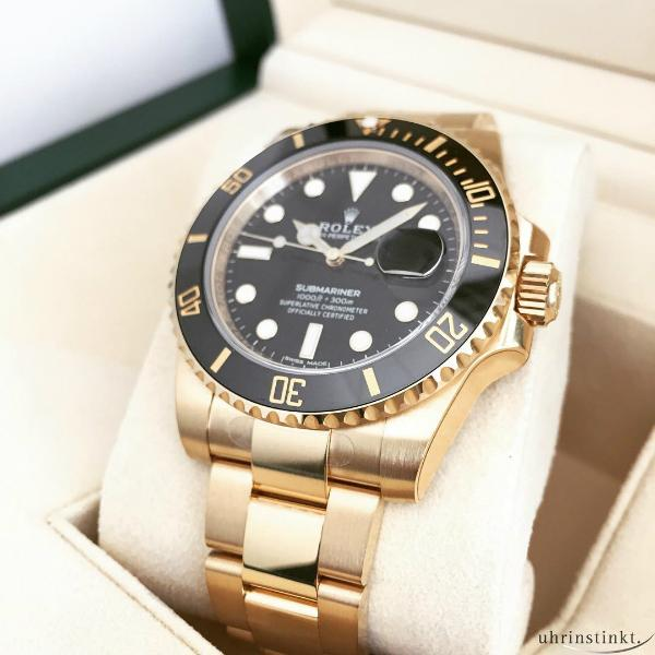 rolex-gold-diving-submariner