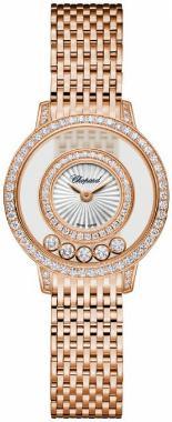 Chopard Happy Diamonds Icons Round in der Version 209411-5001 in 18K Rosegold