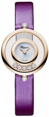 Chopard Happy Diamonds Icons Round in der Version 209415-5001 in 18K Rosegold
