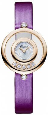 Chopard Happy Diamonds Icons Round in der Version 209415-5001 in 18K Rosegold
