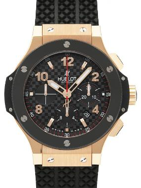 Hublot Big Bang Evolution in der Version 301-PB-131-RX in 18K Rosegold mit Keramikluenette