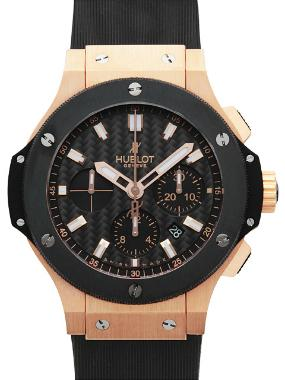 Hublot Big Bang Evolution in der Version 301-PM-1780-RX in 18K Rosegold und Keramik-Luenette