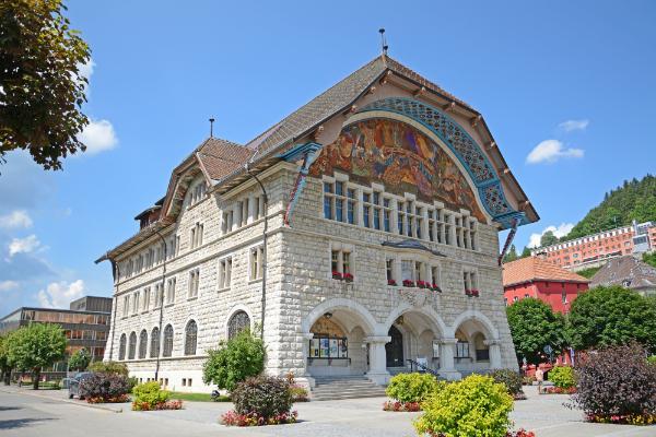Le Locle Rathaus