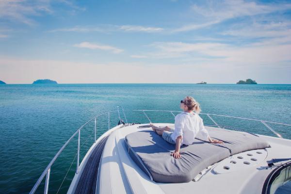 Luxurioese Kreuzfahrt mit der Yacht