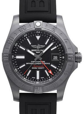 Breitling Avenger II GMT Blacksteel in der Version M3239010-BF04-152S-M20SS-1