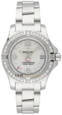 Breitling Colt Lady 33 in der Version A7738853-A769-175A