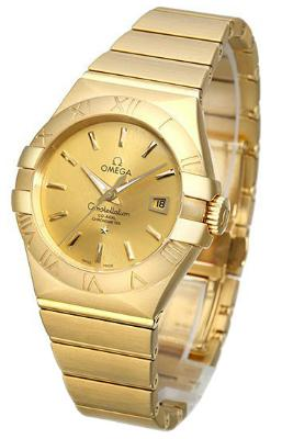 Omega Constellation Co-Axial 31mm in der Version 123-50-31-20-08-001