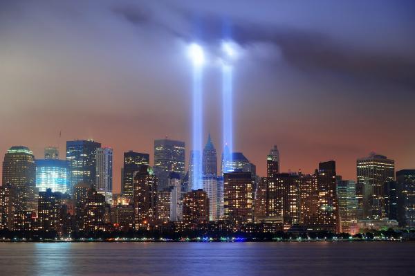 Hommage an die Opfer des 11. Septembers 2001
