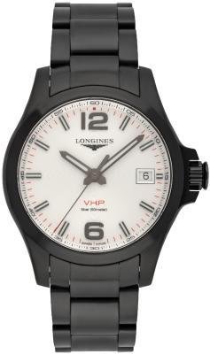 Longines Conquest VHP in der Version L3-716-2-76-6 aus Edelstahl mit PVD-Beschichtung