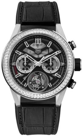 Tag Heuer Carrera Calibre HEUER 02 T Automatik Chronograph 45mm in der Version CAR5A81-FC6377