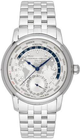 Frederique Constant Manufacture Worldtimer Limited Edition in der Version FC-718MC4H6B