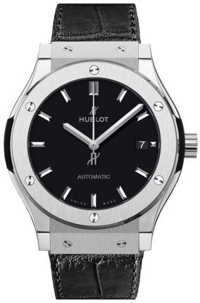 Hublot Classic Fusion 38mm Automatic Titanium in der Version 565-NX-1171-LR