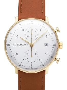 Junghans Max Bill Chronoscope in der Version 027-7800-00