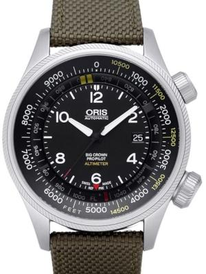 Oris Big Crown ProPilot Altimeter in der Version 01 733 7705 4134-07 5 23 14FC mit Fuss-Skala