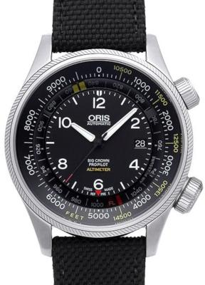 Oris Big Crown ProPilot Altimeter in der Version 01 733 7705 4134-07 5 23 15FC mit Fuss-Skala