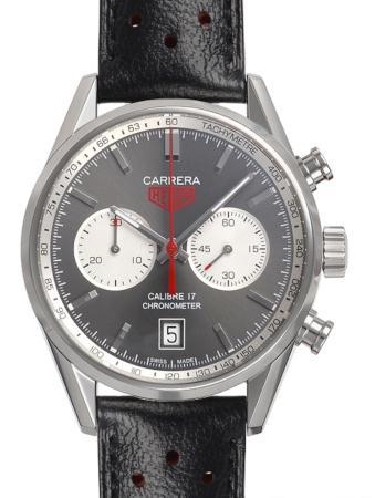 Tag Heuer Carrera Calibre 17 Automatik Chronograph in der Version CV5110-FC6310