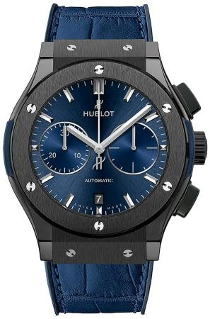 Hublot Classic Fusion Ceramic Blue Chronograph 45mm in der Version 521-CM-7170-LR