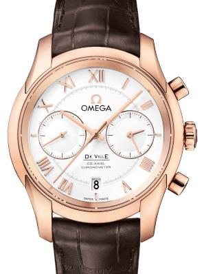 Omega De Ville Co-Axial Chronograph in der Version 431-53-42-51-02-001