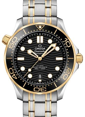 Omega Seamaster Diver 300 M Co-Axial Master Chronometer 42mm in der Version 210-20-42-20-01-002