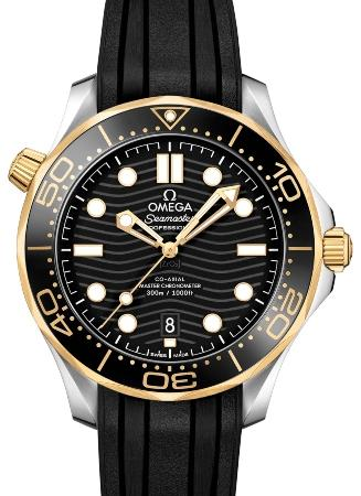 Omega Seamaster Diver 300 M Co-Axial Master Chronometer 42mm in der Version 210-22-42-20-01-001
