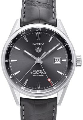 Tag Heuer Carrera Calibre 7 Twin-Time Automatik 41mm in der Version WAR2012-FC6326