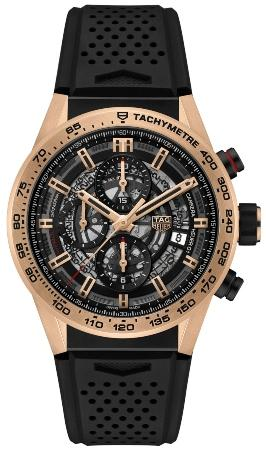 Tag Heuer Carrera Calibre HEUER 01 Automatik Chronograph 43mm in der Version CAR205B-FT6087