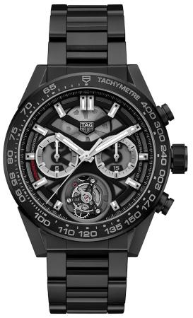 Tag Heuer Carrera Calibre HEUER 02 T COSC Automatik Chronograph 45mm in der Version CAR5A90-BH0742