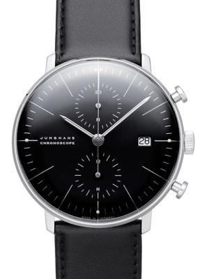 Junghans Max Bill Chronoscope in der Version 027-4601-00