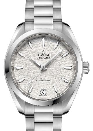 Omega Seamaster Aqua Terra 150M Co-Axial Master Chronometer 34mm in der Version 220-10-34-20-02-002