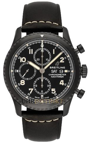 Breitling Navitimer 8 Chronograph 43 Black Steel in der Version M13314101B1X1