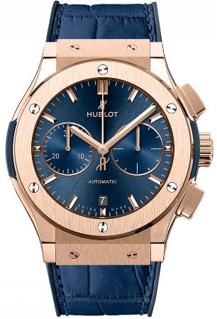 Hublot Classic Fusion 45mm Automatic Chronograph Blue in der Version 521-OX-7180-LR