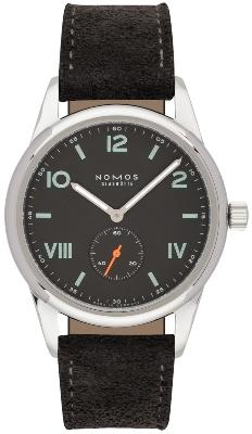 NOMOS Glashuette Club 38 Campus Nacht in der Version 736 mit Stahlboden