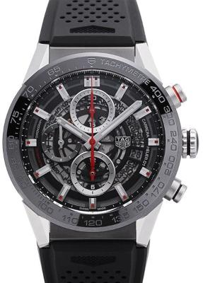 Tag Heuer Carrera Calibre HEUER 01 Automatik Chronograph 43mm in der Version CAR201V-FT6087