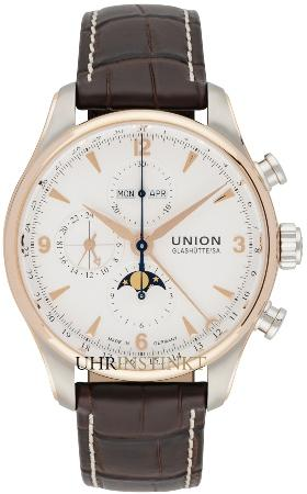 Union Glashuette Belisar Chronograph Mondphase in der Version D904-425-46-017-01