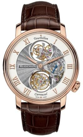 Blancpain Villeret Tourbillon Carrousel in der Version 2322 3631 55B