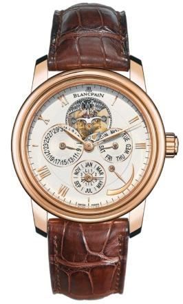 Blancpain Villeret Tourbillon Quantieme Perpetuel 8 Jours in der Version 4225 3642 55B