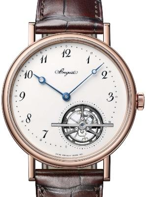 Breguet Grandes Complications Tourbillon Extraflach in der Version 5367BR-299-WU