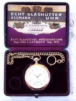 Julius Assmann Taschenuhr
