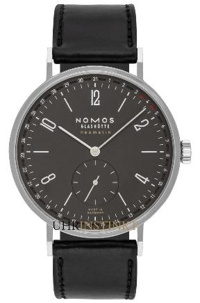 NOMOS Glashuette Tagente Neomatik 41 Update Ruthenium in der Version 181 mit Saphirglasboden