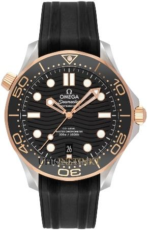 Omega Seamaster Diver 300 M Co-Axial Master Chronometer 42 mm in der Version 210-22-42-20-01-002