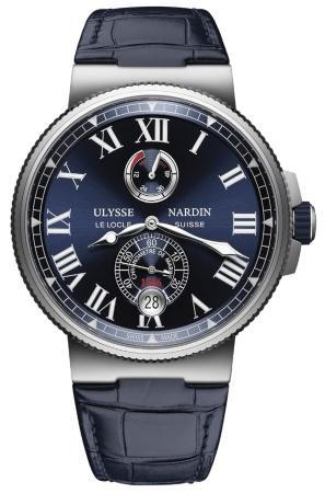 Ulysse Nardin Marine Chronometer in der Version 1183-122-43